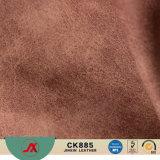 Tessuto di cuoio del PVC di falsificazione antica d'imitazione di alta qualità per i sacchetti/sofà/automobile/pattino