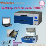 Macchina automatica del forno di riflusso di SMT con la prova in linea di prova di temperatura