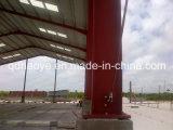 Costruzione prefabbricata della struttura d'acciaio di alta qualità con la pittura, caldo tuffata galvanizzato (SSW-013)