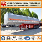 3-as 47cbm De Semi Aanhangwagen van de Tank van de Benzine van het Koolstofstaal