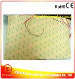 250 * 400 * 1.5mm Silicone Rubber 3D aquecedor de impressora 12V 190W 3m 100k 500mm Teflon Wire