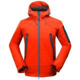 L'homme Veste d'hiver en plein air Soft Shell Camouflage Manteau imperméable