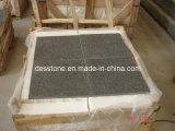 El granito flameado Marrón Imperial baldosas (DES-GT006)