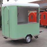 De commerciële Mobiele Kar van de Duw van de Hand van de Vrachtwagen van het Voedsel van de Uitvoer van de Fabriek van de Kiosk