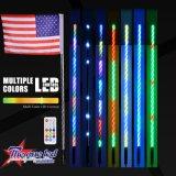 4ft 5FT Télécommande ATV UTV Whip LED lumière avec 300 Patterns
