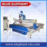 Atc de machine de couteau de commande numérique par ordinateur de fournisseur d'Ele 2140 Chine pour le bois découpant 3D la gravure, porte en bois, meubles en bois, Module