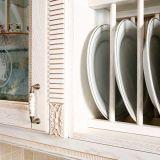 PVCキャビネットドア(zc-020)が付いている台所家具のメラミン食器棚