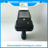 PDA áspero, varredor sem fio do código de barras, impressão digital, leitor de RFID