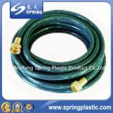 Tuyau de jardin flexible renforcé en PVC de qualité supérieure avec ajustement en laiton