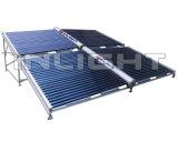 Coletor solar evacuado de distribuidor de pressão da câmara de ar não
