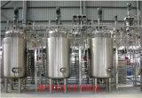 El tanque industrial del Zymosis de Zymolysis de la cerveza del vino del alcohol del acero inoxidable