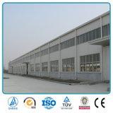 Edificio prefabricado ligero del taller de la estructura de acero