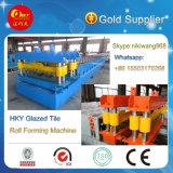 Qualidade de exportação ladrilhos vidrados máquina de fazer do tejadilho