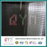Оцинкованный сварной проволочной сетки в мастерской / сварной проволочной сеткой рулона оптовая торговля
