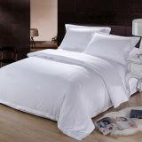 Conjunto de cama de algodão do hotel com conjunto de edredon