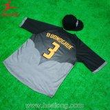 Camisola Sublimated 3D do basebol da alta qualidade do projeto de Healong a melhor