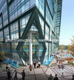Aangepaste Gordijngevels voor de Commercieel Bouw, Bureau of Winkelcomplex