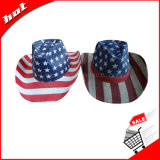 Cowboy Hat American Flag Hat Chapéu unissexo