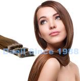 Gravar extensões retas do cabelo de Remy