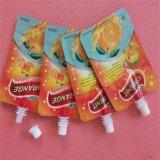 液体のための口が付いている高い伸張の強さのスタンドアップ式の袋袋