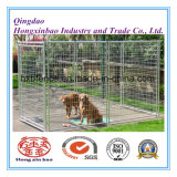 Malha de soldagem galvanizada Outdoor Pet Safe House / Dog Cage / Dog Kennels