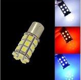 12V 27SMD 5050 indicatore luminoso di segnale bianco di girata dell'automobile LED