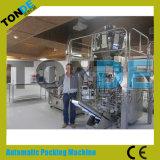 Máquina automática llena del envasado de alimentos con el pesador de 10 pistas
