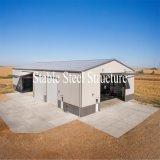 Cloches industrielles en métal portatif de structure métallique à vendre