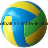 Voleibol de goma del neón de la talla 5 para divertirse