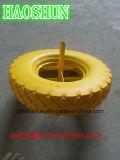Rotella resistente 4.00-8 della gomma piuma dell'unità di elaborazione della carriola