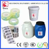Adhésif pour étiquettes sensibles à la pression à base d'eau