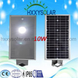 Luz Externa de energia solar integrada Rua LED Light 10W