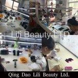 Lili 아름다움 OEM 양 채찍질은 개별적인 채찍질 매듭 판매 개인 상표를 위한 자유로운 다발 속눈섭을 부채로 부친다