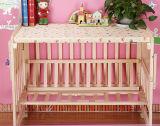 Festes Kiefernholz-Baby-Bett mit Qualität (M-X3017)