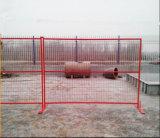 cerca provisória revestida galvanizada Canadá do pó de 6ftx9.5FT/cerca portátil