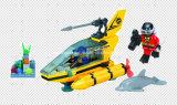 Aqua-Serien-Entwerfer-Unterseeboot 100PCS blockt Spielwaren