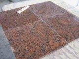 Carreaux de granit rouge