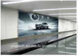 LEIDENE van de Vertoning van de Reclame van de luchthaven BinnenMuur Opgezette Banner die Lichte Doos afdrukken