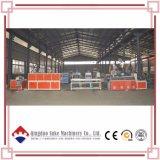 Le bois composite en plastique panneau mural/panneau de plafond en PVC/fibre Bamboo-Wood panneau mural de ligne de production