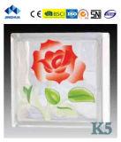 Высокое качество Jinghua художественных K-8 Окраска стекла блок/кирпича