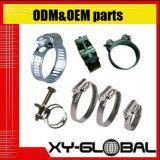 Metalteile mit Oberflächenbehandlung