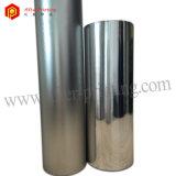 Película de poliester adhesiva metalizada plata