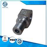 Kundenspezifische geschmiedete raue maschinell bearbeitete Hydrozylinder-Ersatzteile