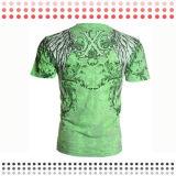 2016枚の新しいデザインカスタム綿の不足分のスポーツのTシャツ
