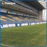 Signage polychrome extérieur du stade DEL Digital de sport