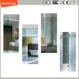簡単なシャワー室、シャワー機構、シャワーの小屋を滑らせる調節可能な6-12緩和されたガラス