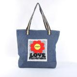 花のキャンバス袋(B14812)