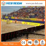 P4 P5 P6のフルカラーのスポーツの境界の競技場のLED表示スクリーン