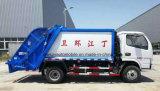 Dongfeng 트럭 작은 4 톤 패물 컴퓨레스 트럭 4 M3 쓰레기 쓰레기 압축 분쇄기