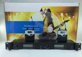 Multi radio professionale della Manica nel sistema del microfono di video dell'orecchio